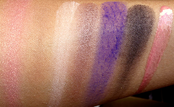 NARS Love Miami swatches