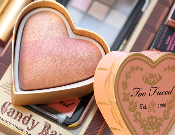 Too Faced Peach Beach Sweethearts Perfect Flush Blush