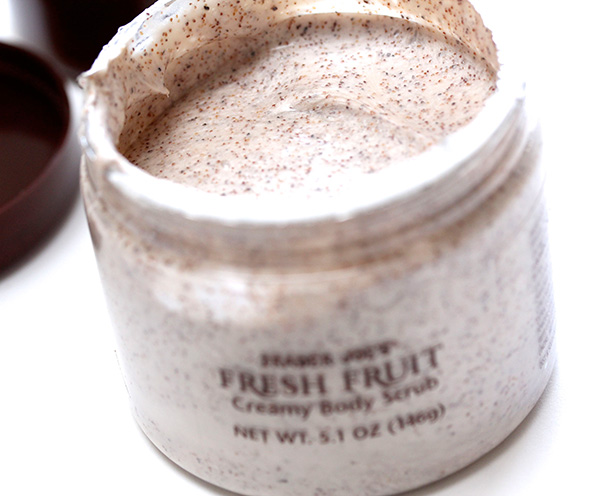 Trader Joe's Exfoliating Body Scrub Trio: Fresh Fruit Creamy Body Scrub