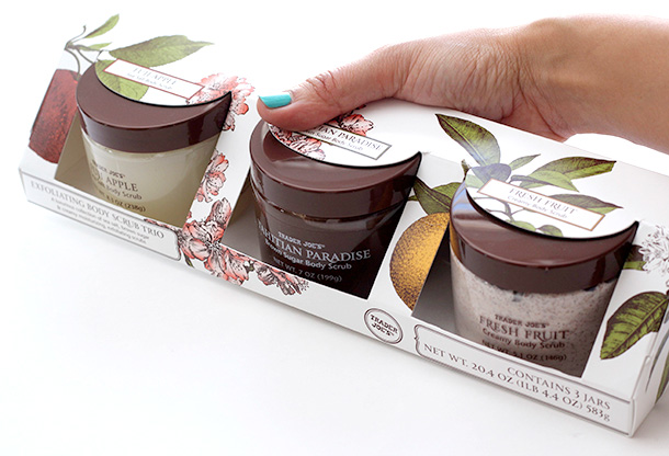 Trader Joe's Exfoliating Body Scrub Trio