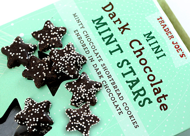 Trader Joe's Mini Dark Chocolate Stars