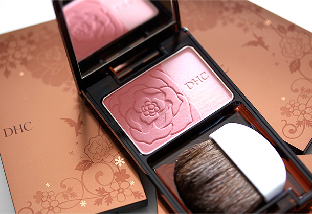 DHC Face Color Palette EX in Glowing Rose