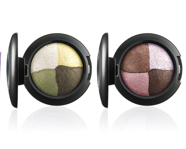 MAC A Fantasy of Flowers Mineralize Eye Shadows in In the Meadow (left) and Pink Sensibilities (right)