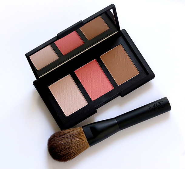 NARS NARSissist Cheek Palette and Mini Blush Brush