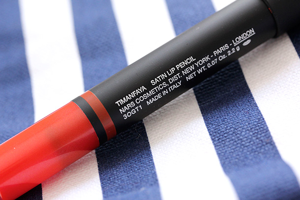 NARS Timanfaya Satin Lip Pencil