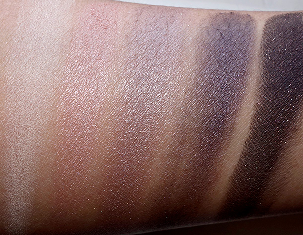 NARSissist Eyeshadow Palette Swatches