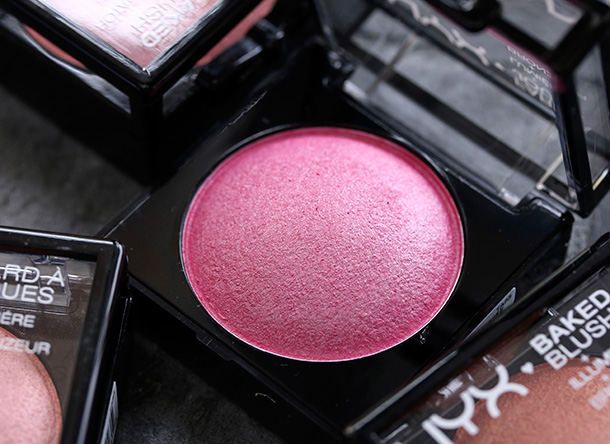 Nyx Baked Blush Ignite Nyx Pink Fetish Baked Blush