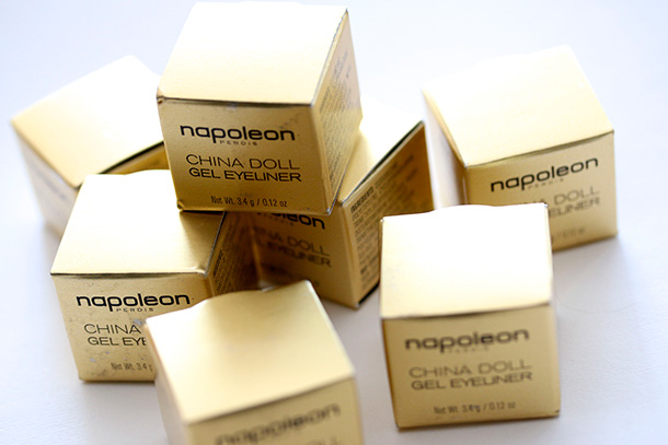 Napoleon Perdis China Doll Gel Eyeliner Boxes