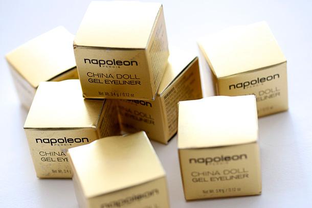 Napoleon Perdis China Doll Gel Eyeliner Boxes