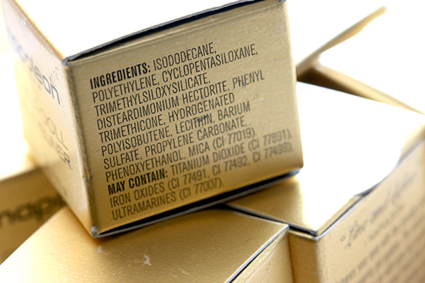 Napoleon Perdis China Doll Gel Eyeliner Ingredients