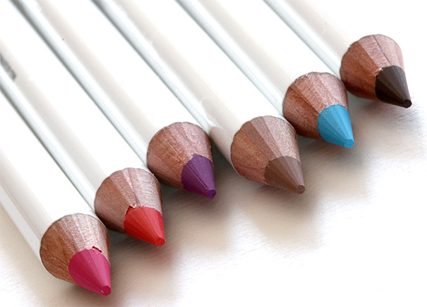 Obsessive Compulsive Cosmetics Colour Pencils from the left: Anime, Grandma, Hoochie, Pennyroyal, Pool Boy and Sybil