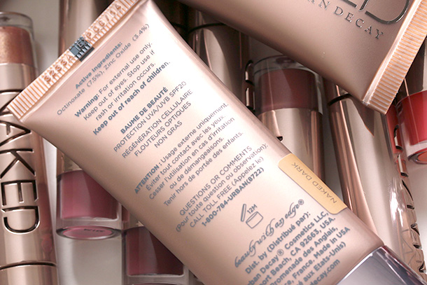 Urban Decay Naked Skin Beauty Balm in Naked Light and Naked Dark