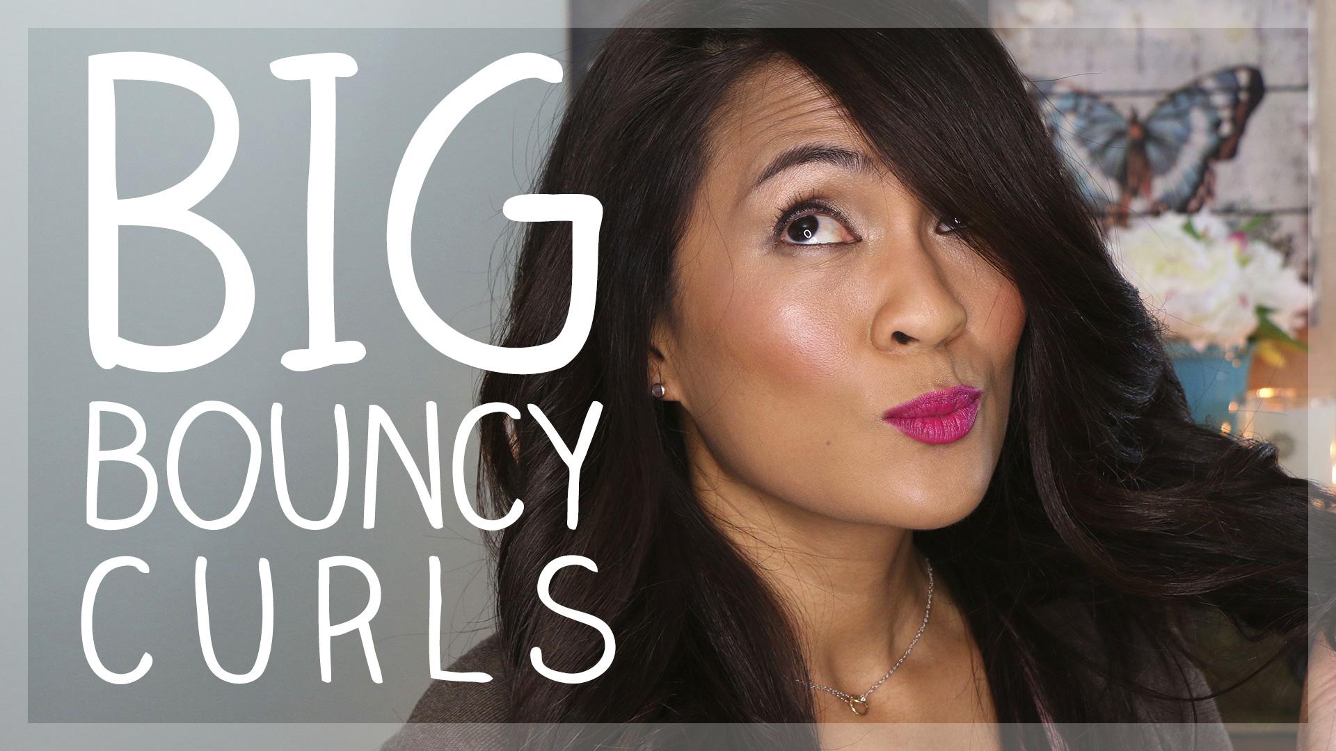 how to get big bouncy curls makeup and beauty blog. Black Bedroom Furniture Sets. Home Design Ideas