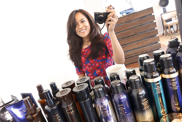 Oribe hairstyling tips