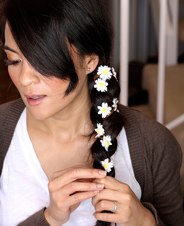 Kristin Perry Daisy Flower Braid In