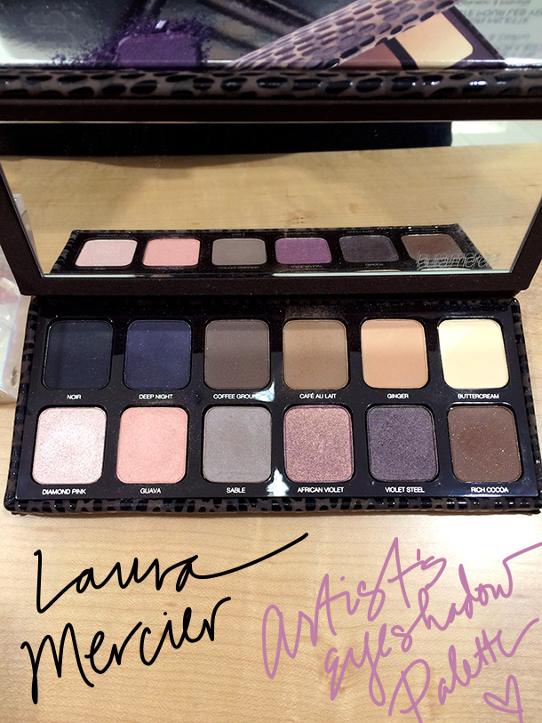 The new Laura Mercier Artist's Palette, $80