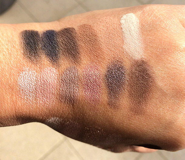 Laura Mercier Artist Eyeshadow Palette Swatches