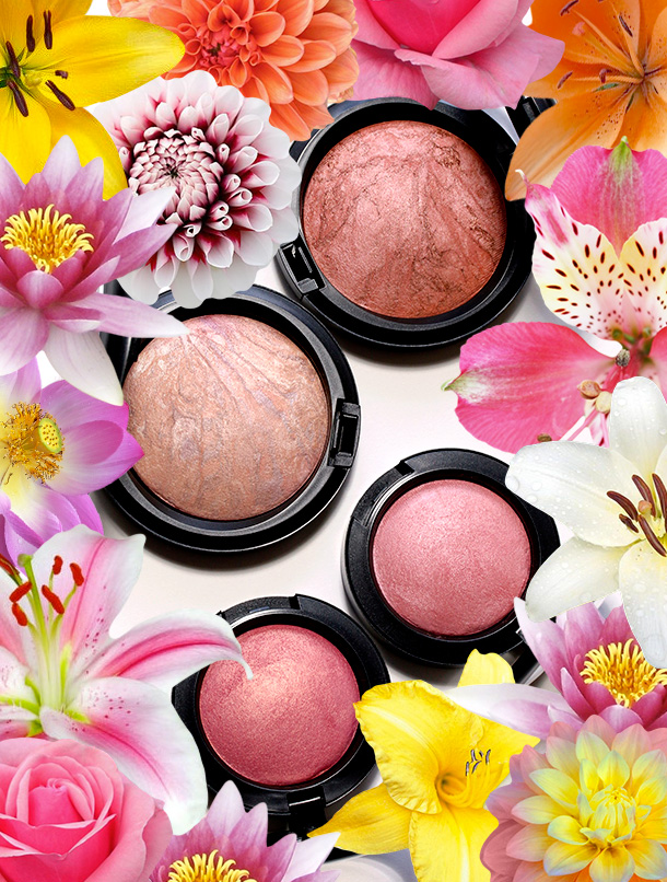 MAC A Fantasy of Flowers Mineralize Skinfinish and Blushes