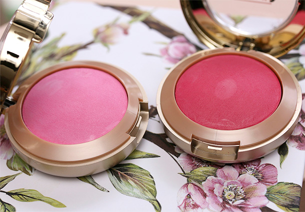 Milani Baked Blush in Delizio Pink (left0 and Bella Rosa (right)