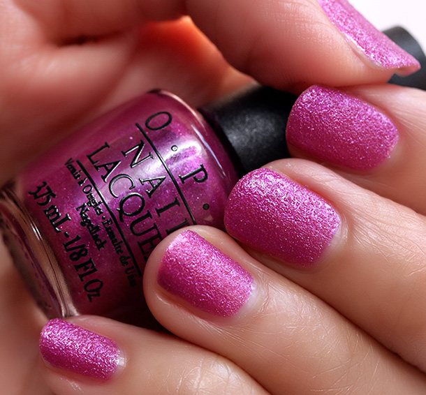 OPI Samba-dy Loves Purple