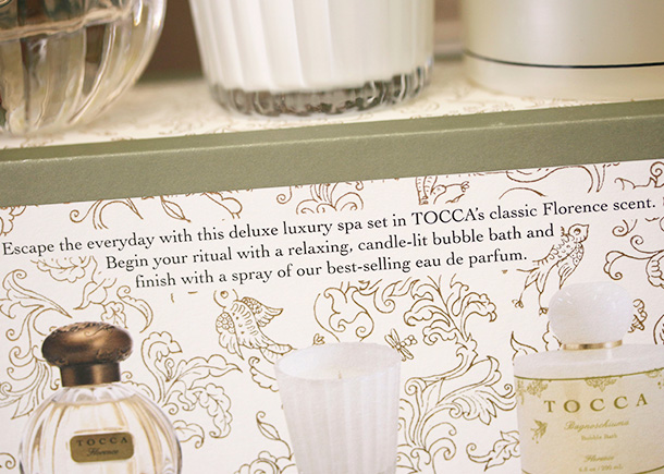 Treat yourself to a little everyday luxury with the tocca for A little luxury beauty salon