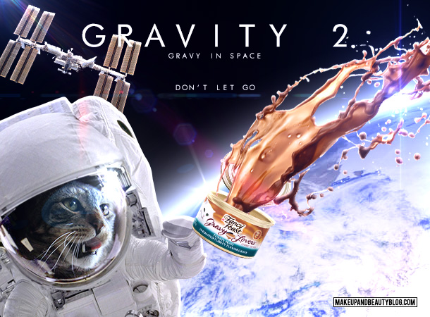 Tabs the Cat starring in Gravity 2