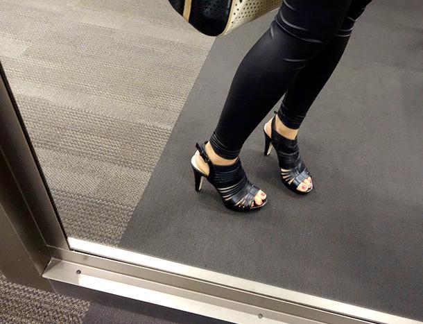 Franco Sarto Meggie Sandal in black