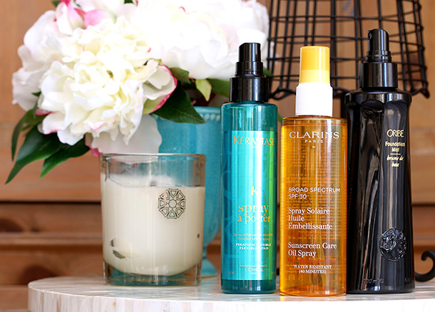 New hair obsessions from Kerastase, Clarins and Oribe