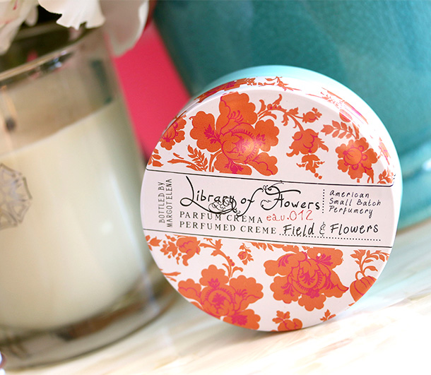 Library of Flowers Field & Flowers Parfum Creme