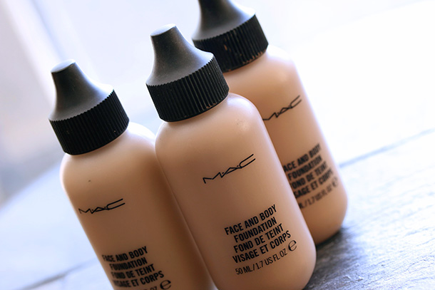 MAC Face & Body Foundations in C4, C5 and C6