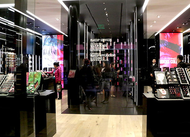 A Tour And Reverse Eyeliner Makeover At The New Flagship