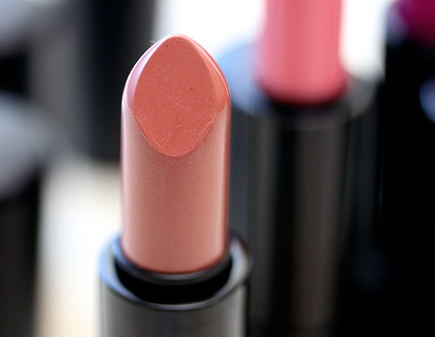 MAC Mineralize Lipstick in Pure Pout, a dirty cool beige