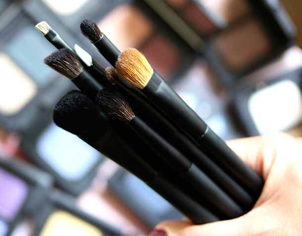 NARS Artistry Brushes Eye Lip Category