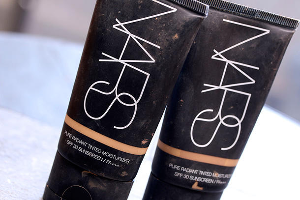 NARS Pure Radiant Tinted Moisturizers in St. Mortiz and Cuba