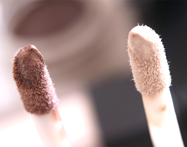 Sonia Kasuk Pearlescence Longwear Creme Shadow in Quartz (left) and Diamond (right)