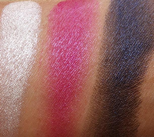 Too Faced A La Mode Eyes Palette Swatches from the left: La Croisette, Monaco and De La Mer