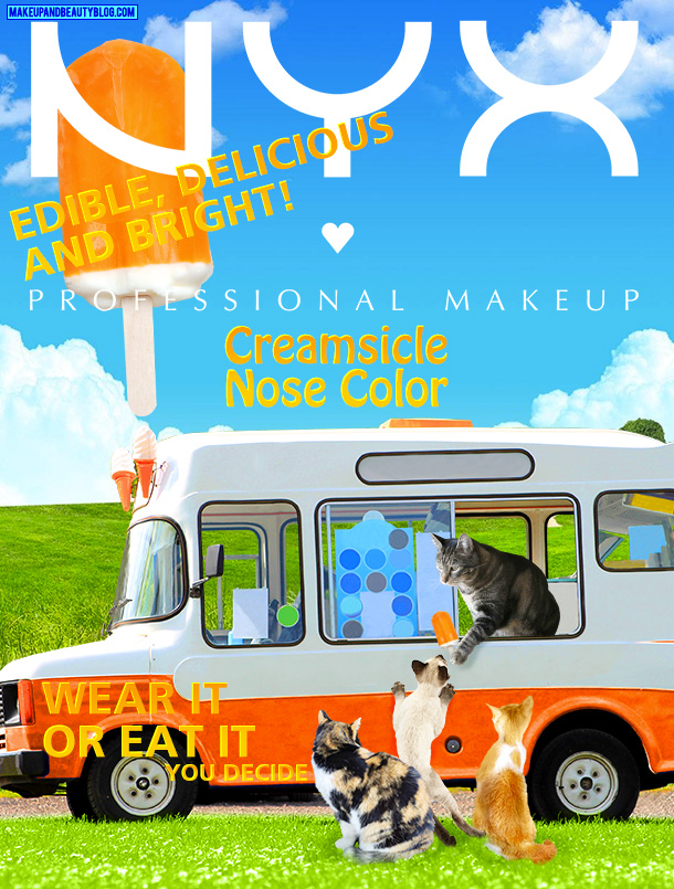 Tabs for NYX Creamsicle Nose Color