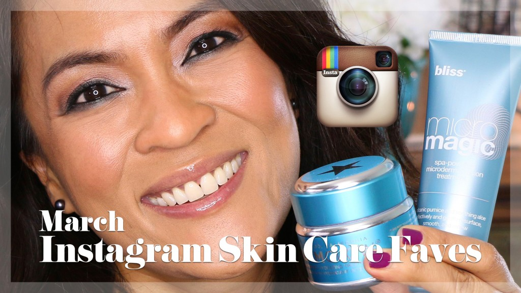 March Instagram Skin Care Faves From Bliss and GlamGlow