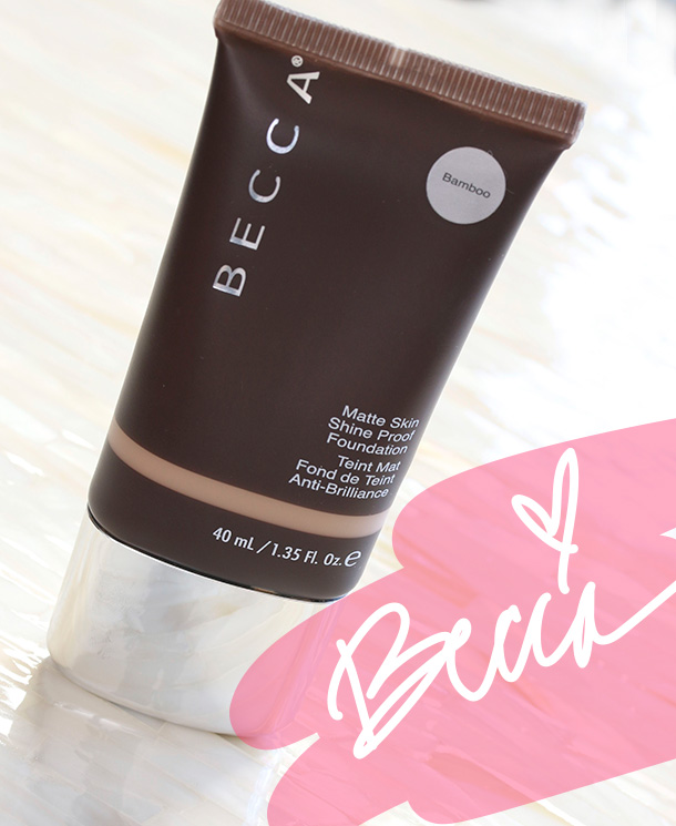 BECCA Ever-Matte Skin Shine Proof Foundation