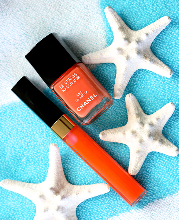Chanel Mirabella Le Vernis Nail Colour and Sunny Glossimer