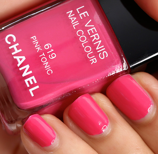 Chanel Pink Tonic Swatch