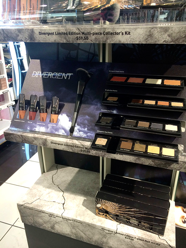 Divergent Cosmetics Multi-Piece Collector's Kit, $59.50