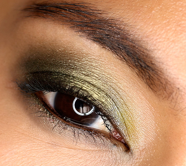 MAC Golden Olive, Ever So Yellow and Black Black