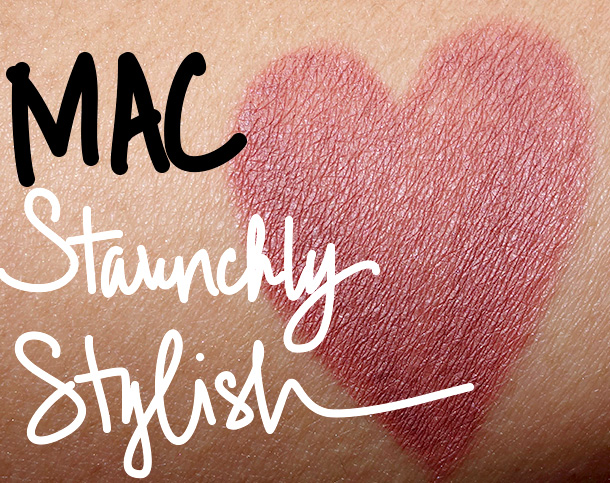 MAC Staunchly Stylish Pro Longwear Lip Pencil