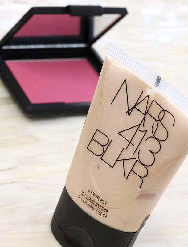 NARS 413 BLKR Blush and Illuminator