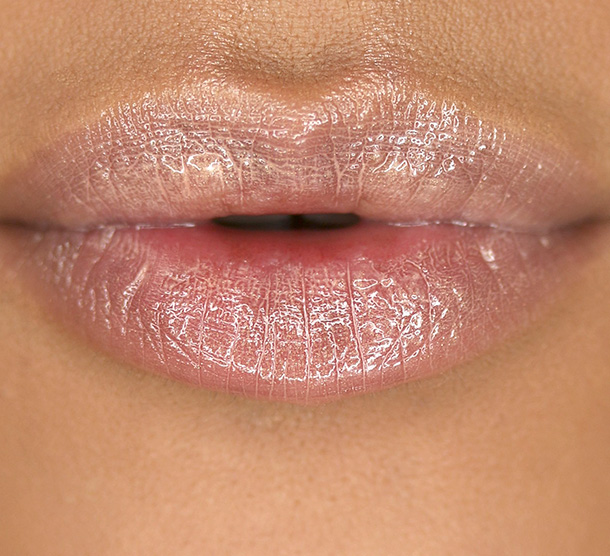 NARS Striptease Lip Gloss Lip Swatch