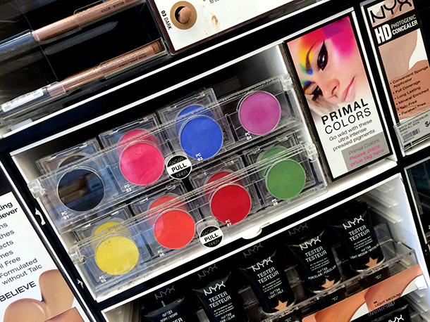 NYX Primal Colors Pressed Pigments Facepowder