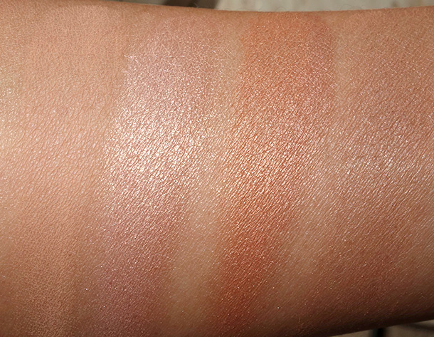 Too Faced The Little Black Book of Bronzers Swatches