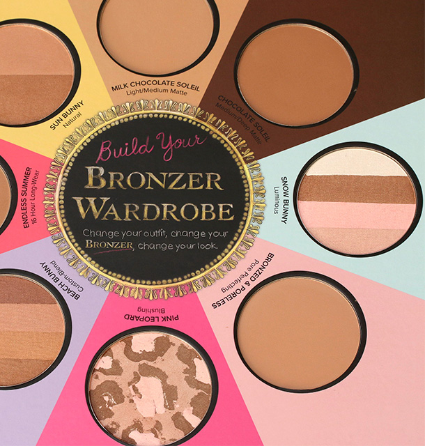 Too Faced The Little Black Book of Bronzers