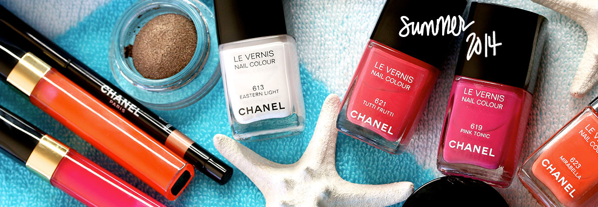Chanel Summer 2014 on Makeup